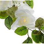 Wilton-Lighted-White-Rose-Garland