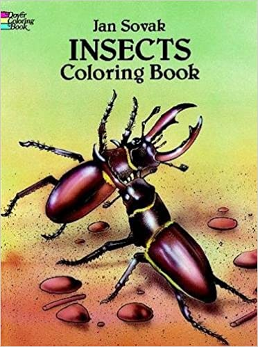 Insects Coloring Book (Dover Nature Coloring Book): Jan Sovak ...