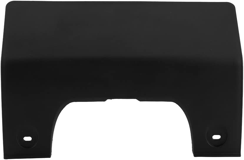 Acouto Plastic Rear Bumper Hitch Tube Tow Cover Eye Hook Cover for Land Rover LR3 05-09 LR4 10-12 DPO 500011PCL