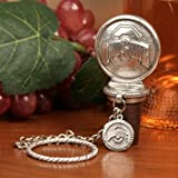 Ohio State Buckeyes Collectible Wine Bottle Stopper - NCAA College Athletics by Heritage Pewter