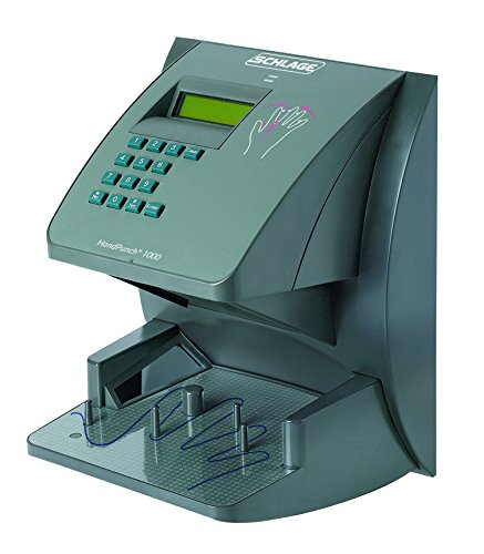 Serial System Ups (Schlage Biometric Hand Reader HP 1000 (Geometry HandPunch Terminal - 1 Year Warranty!)(RS232- 50 ft. Serial Cable Included) Sold by Time Masters (UPS SHIPPING))
