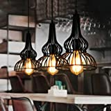 Cheap LightInTheBox Loft Vintage Pendant Light American Industrial Wind Bar Cafe Bedroom Restaurant Single Head Wrought Iron Droplight