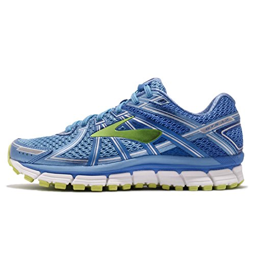 09094578c96 Brooks Women s Adrenaline GTS 17 Azure Blue Palace Blue Lime ...