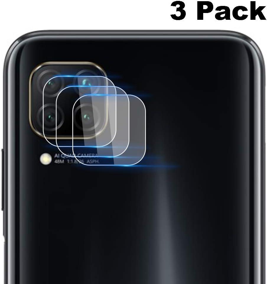 NOKOER Protector Cámara para Huawei P40 Lite, [3 Pack] Protector de Pantalla Cámara, 2.5D Película de Protección de Vidrio Templado Resistente a Los Arañazos: Amazon.es: Electrónica