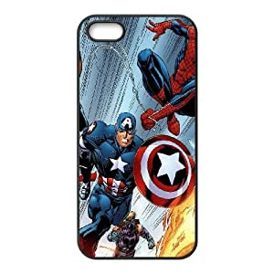 iPhone 5 5s Cell Phone Case Black ultimate heros illust art FXS_486133