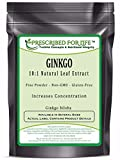 Ginkgo - 10:1 Natural Leaf Extract Powder (Ginkgo biloba), 5 lb