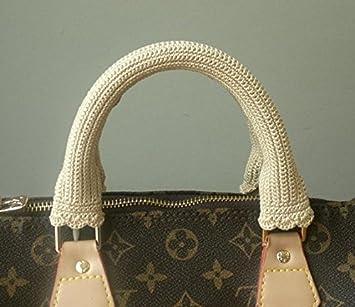 49948276d0e3 Crochet Handle Cover for LV SPEEDY size30 Cream  Amazon.ca  Home   Kitchen