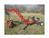 Build Your Own Portable Backhoe Plans DIY Track Hoe Excavator Garden Digger