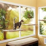 Kitty Kitten Window Mounted Basking Bed Pet Shelf Cat Perch Seat High Hammock