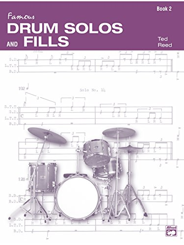 (Drum Solos and Fill-Ins for the Progressive Drummer, Book 2 (Ted Reed Publications))