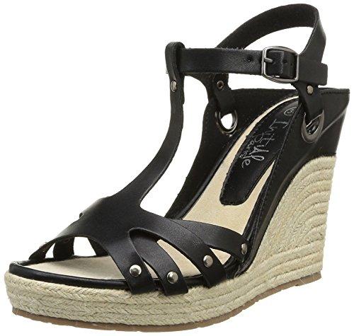 Initiale Rondine, Women's Sandals Black