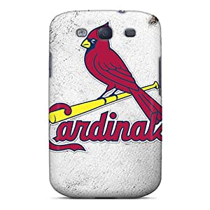 High Grade Wpsoncase Flexible Tpu Case For Galaxy S3 - St. Louis Cardinals