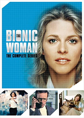 DVD : The Bionic Woman: The Complete Series (Boxed Set, Snap Case, 14 Disc)