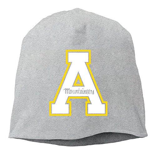 Caryonom Adult Appalachian State University Beanies Skull Ski Cap Hat Ash (Skully And Green Demon)