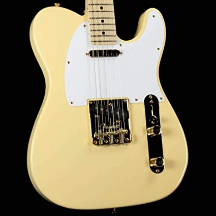 Fender Limited Edition American Professional Telecaster - Estuche y accesorios para guitarra, diseño vintage, color blanco y dorado: Amazon.es: Instrumentos musicales
