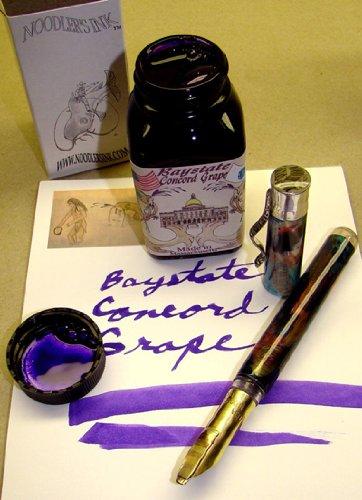 Noodler's Ink Refills Baystate Concord Grape Bottled Ink - ND-19049