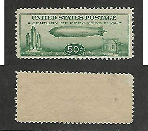 United States, Postage Stamp, C18 Mint NH, 1933 Zeppelin, JFZ