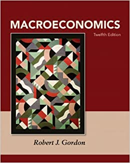 Gordon, macroeconomics (subscription) | pearson.