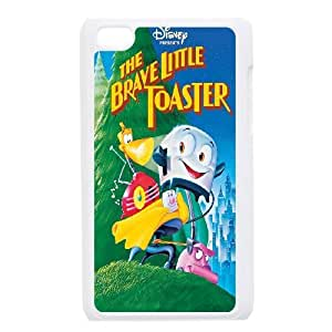 iPod Touch 4 Phone Case White Brave Little Toaster ZHC2685067