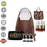 MaxiMist Allure Xena BLING Sunless Spray Tanning System with Popup Tent (Brown) Review