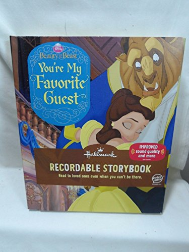 Hallmark Recordable Storybooks KOB1109 Beauty and The Beast - You're My Favorite Guest
