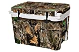 USA Tuff Thickest & Toughest Wrap 24Mil Cooler Decal Skin for YETI 45QT Tundra Full Kit - Woodland Camo