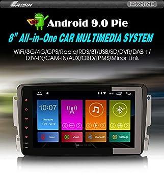 Erisin ES2989C - Radio para Coche con GPS Android 9.0, para ...