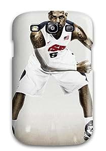 tiffany moreno's Shop men basketball lebron james ball nba NBA Sports & Colleges colorful Samsung Galaxy S3 cases