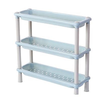 Haotfire Plastic Shelf Bathroom Storage Shelves 3 Tier Shelves Corner  Organizer For Kitchen Bathroom Shampoo Cosmetics