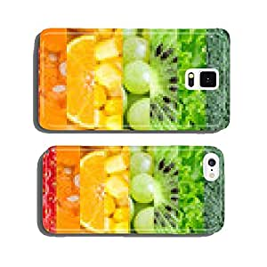 Fruits and vegetables background cell phone cover case iPhone6
