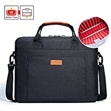 Laptop Shoulder Bag, KALIDI 15.6 Inch Notebook Briefcase Messenger Bag for Dell / Macbook Air/ Lenovo / HP , Travelling, Business, College and Office