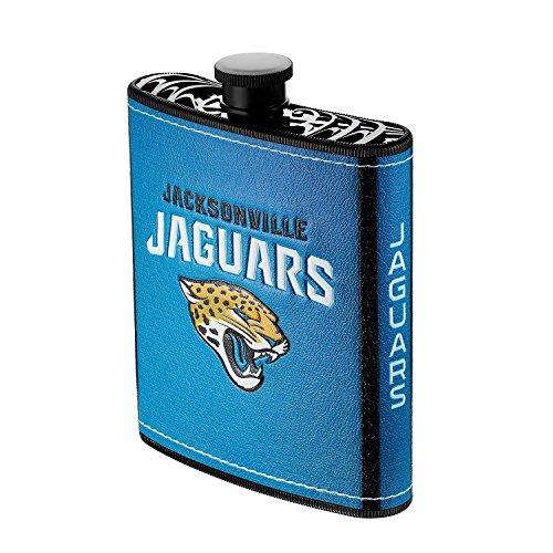(Pro Specialties Group NFL Jacksonville Jaguars Plastic Hip Flask, 7-Ounce)