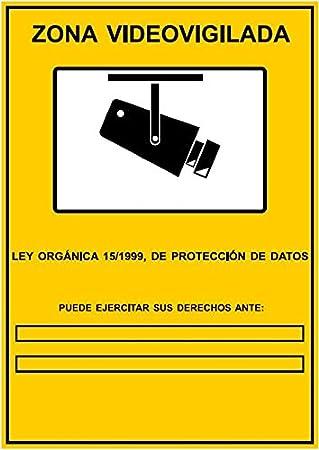 Dron escopeta abuelo tema serio p gina 21 forocoches - Cartel de videovigilancia ...