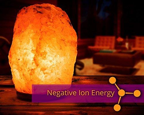 Hemingweigh Natural Himalayan Rock Salt Lamp 6 7 Lbs With