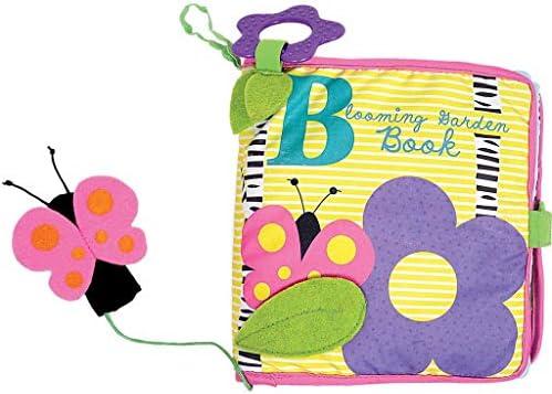 [해외]Manhattan Toy Soft Activity BookTethered Finger Puppet Blooming Garden / Manhattan Toy Soft Activity BookTethered Finger Puppet, Blooming Garden