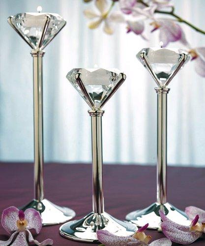 Diamond Shaped Tealight Holders