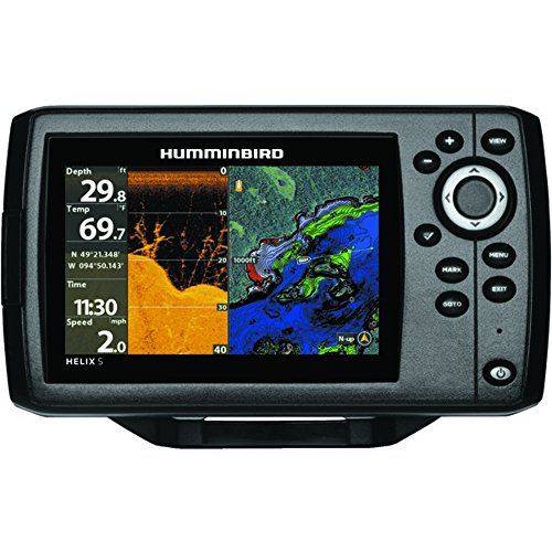 Price comparison product image Humminbird 410220-1NAV Humminbird Helix 5 Chirp Di Gps G2 Navionics Nav+ Bundle