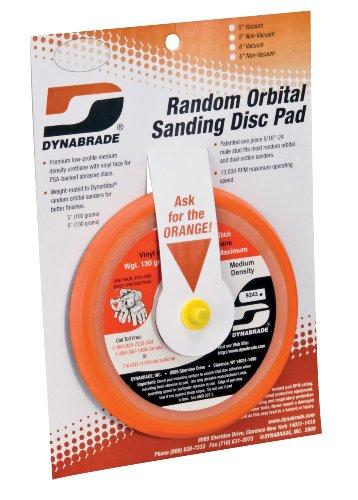 Dynabrade 76011 5-Inch Non-vac Orbital Sanding Pad - Hook Face
