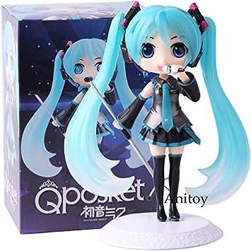 Amazon.com: Extoy Qposket Q Posket Vocaloid figura de nieve ...