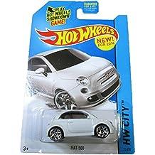 Hot Wheels 2014 HW City Fiat 500 25/250, White