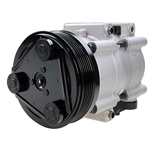 1x Compresor de aire acondicionado FORD COUGAR 2.5 V6 24V 1998-01; FORD MONDEO 1 I GBP 2.5 i 24V 1994-96 + FAMILIAR BNP + BERLINA GBP; FORD MONDEO 2 II BAP ...