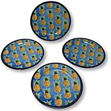 Summer Designs Melamine Serving Plates, Trays, Bowls - Floral, Bamboo, Pineapple,