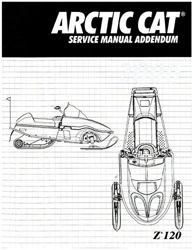 2256-253 2000 Arctic Cat Z 120 Snowmobile Service Manual Supplement pdf