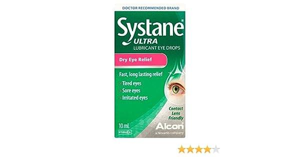 Systane Ultra Gotas Lubricantes para Ojos 10ml: Amazon.es: Salud y cuidado personal