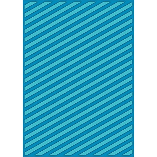 Craftwell USA Teresa Collins Embossing Folder, Modern Stripe by Craftwell USA