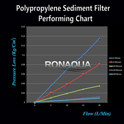 Dual Whole House Water Filter Purifier with Carbon Block and Sediment Filters by Ronaqua (Image #3)