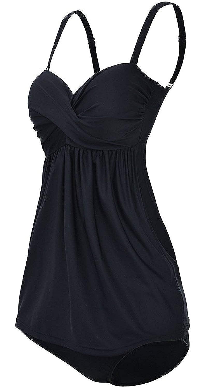 TALLA EU 42-44 (XL). EmilyLe Conjunto de Bikini Traje de baño para Mujer elástico