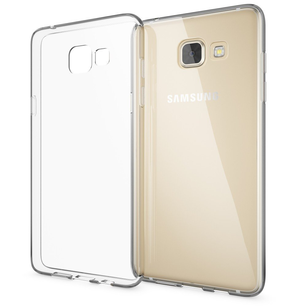 WindTeco Funda Galaxy A3 2017, Funda Transparente [Ultra Fina] [Liquid Crystal] Carcasa Silicona TPU Flexible Gel Protectora Funda Case para Samsung ...
