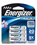ENERGIZER INDUSTRIAL BATTERY - LITHIUM Battery, AAA, Lithium, Industrial, 4/pk, 6 pk/bx