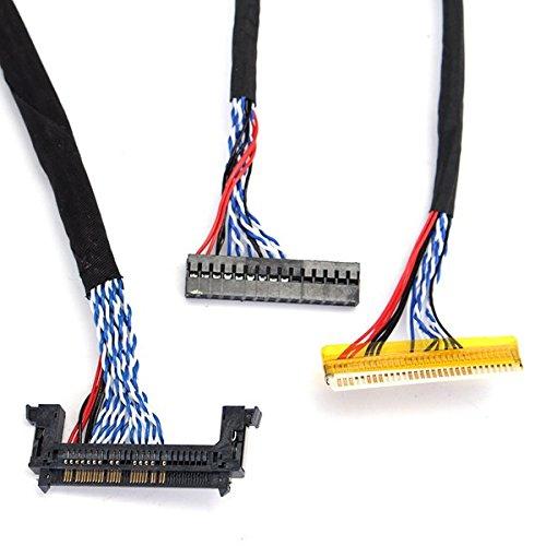RoXane 14Pcs Universal Support De C/âble DAffichage Fpc//Lvds Pour 10-65 Pouces /Écran Lcd Controller Board